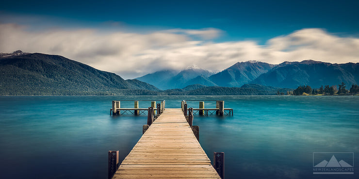 Jetty At Lake Te Anau