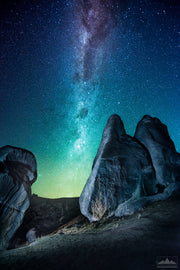 Monoliths and Milky Way