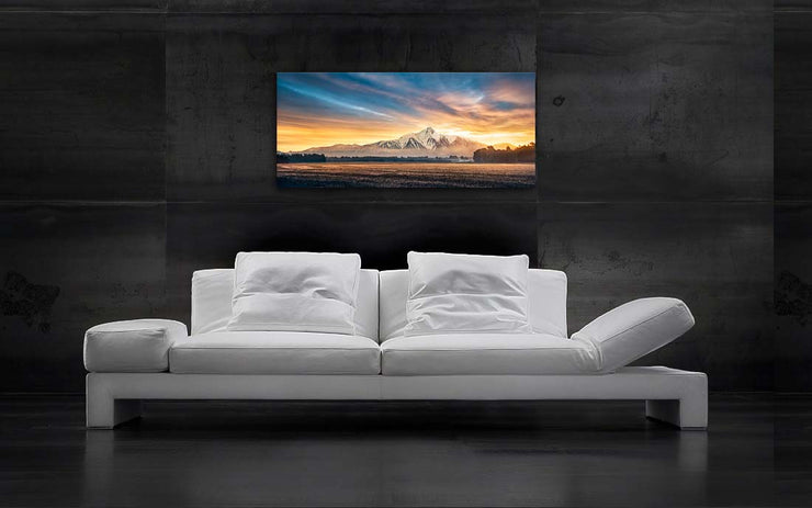 Mountainscape of the Southern Alps - Newzealandscapes photo canvas prints New Zealand