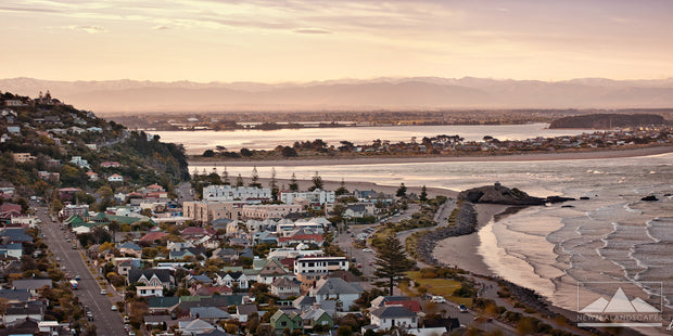 Sumner Panoramic - Newzealandscapes photo canvas prints New Zealand