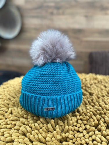 Sabbot Bobble Hat - Eva Teal