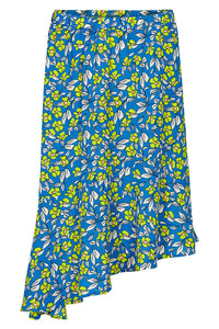 Numph Nuaideen Skirt - Coastal Blue