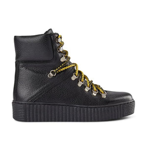 Shoe The Bear Agda Lace-up Boots - Black