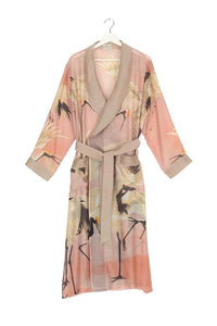 One Hundred Stars Stork Gown - Plaster Pink