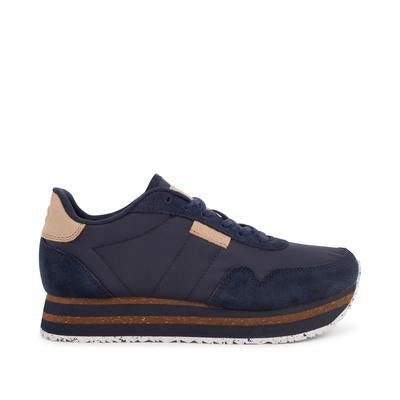 Woden Plateau Trainers - Navy