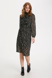Saint Tropez Lilly Dress - Black Star