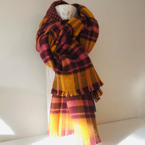 Numph Nubariah Scarf - Buck Brown