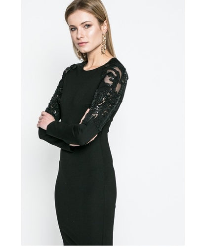 Silvian Heach Medrado Sequin Dress - Black
