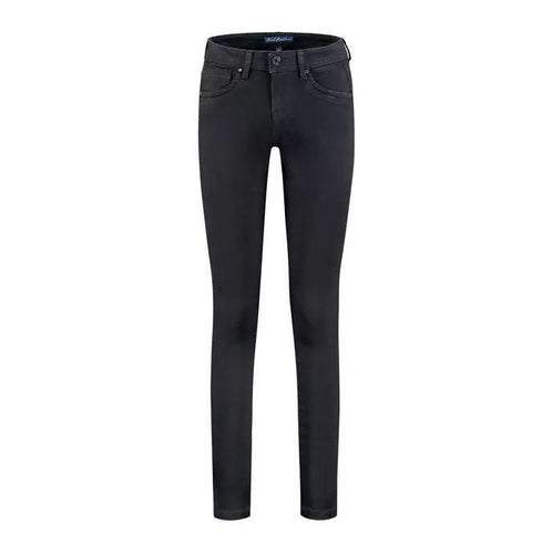 Red Button Jimmy Jeans - Black