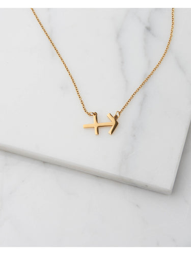 Sofie Schnoor Star Sign Necklace - Sagittarius