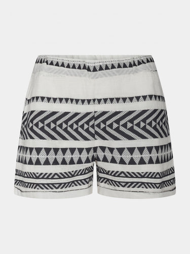 Sofie Schnoor Embroidered Shorts - Black/White