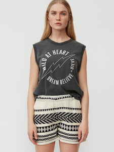 Sofie Schnoor Wild at Heart Tank - Grey