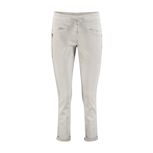 Red Button Tessy Joggers - Light Grey