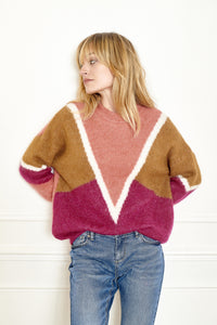 MKT Studio Kafiona Jumper in Pinks