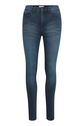 Saint Tropez Jeans - Medium Blue Denim