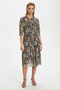 Soaked in Luxury Poppie Dress - Multi colour floral