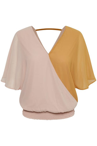 Saint Tropez Benedict Blouse - Rose