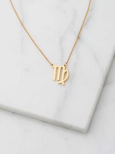 Sofie Schnoor Star Sign Necklace - Virgo
