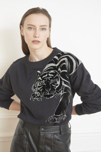 MKT Studio Siger (Tiger) Sweatshirt - Black