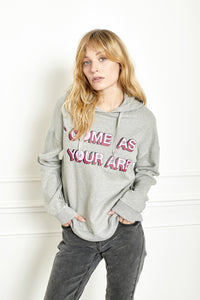 MKT Studio Strassy Come As You Are Sweat - Grey