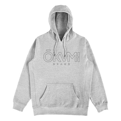 Puff Hoodie (Heather Grey) - Okamibrand