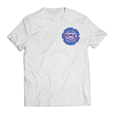 Neon World Tee (White) - Okamibrand