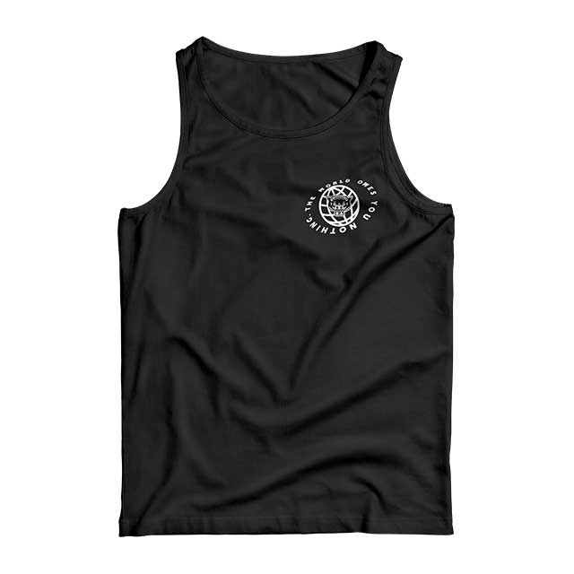 WLVS CROSS TANK (BLACK) - Okamibrand