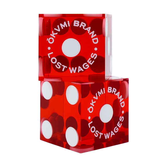 Lost Wages Casino Dice Set of 5