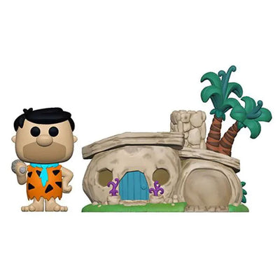 The Flintstones: Fred Flintstone with House - Pop! Town Figure