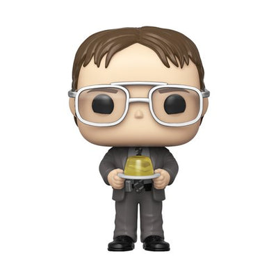 The Office: Dwight with Jello Stapler - Pop! Vinyl Figure