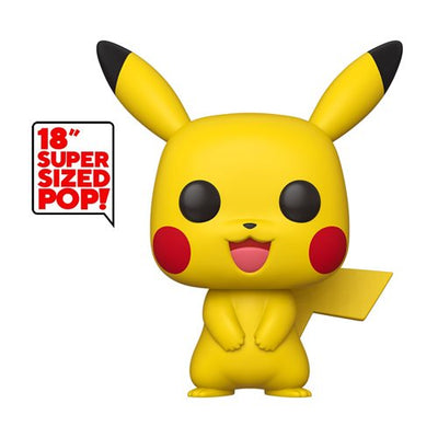 "Pokemon: Pikachu 18""- Pop! Vinyl Figure"