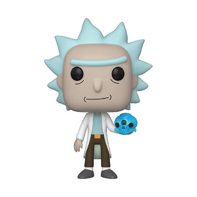 Rick and Morty: Rick With Crystal Skull - Pop! Vinyl Figure