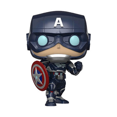 Marvel Avengers Game: Captain America (Stark Tech Suit) - Pop! Vinyl Figure