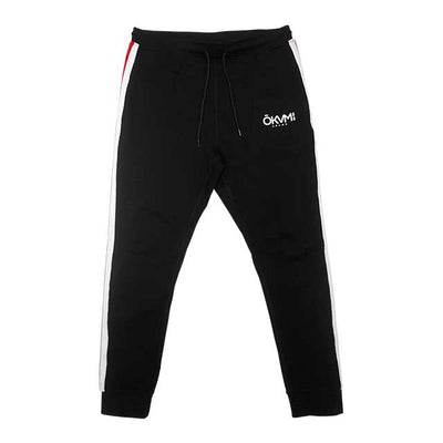 SWIFT Joggers (Red/White Stripe) - Okamibrand