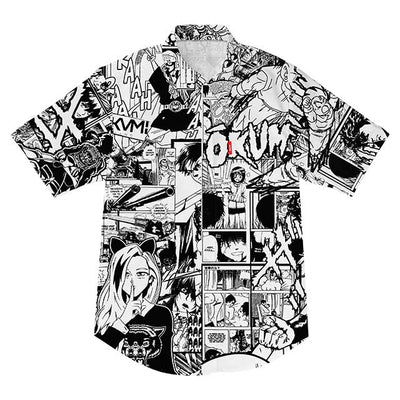 Manga Mash-Up V2 Shirt - Okamibrand