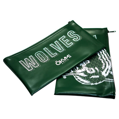 Wolves Money Bag (Green) - Okamibrand