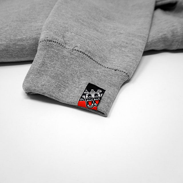 Busy AF Crew (Heather Grey) - Okamibrand