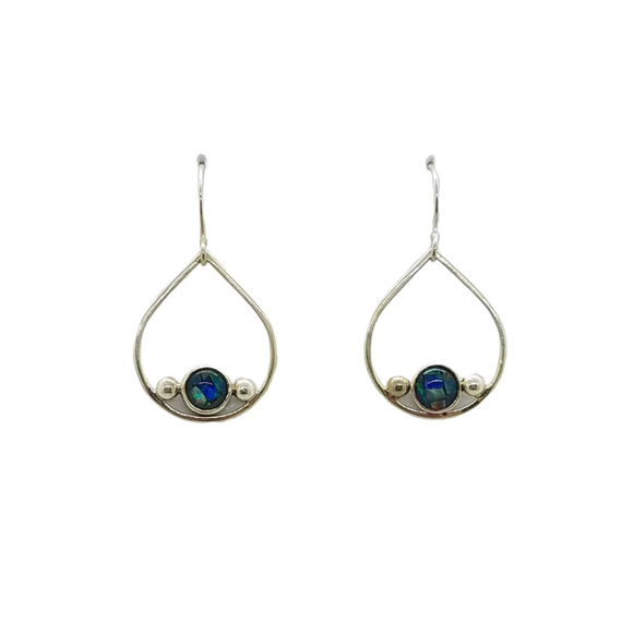 Opal Tears Dangle Earrings