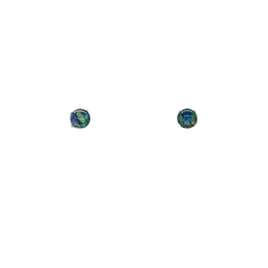 Opal Mosaic Stud Earrings