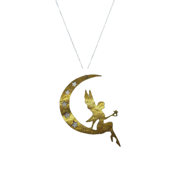 Fly Me to the Moon Necklace
