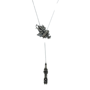Lariat Ship Necklace