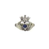 Moonstone Claddagh Ring