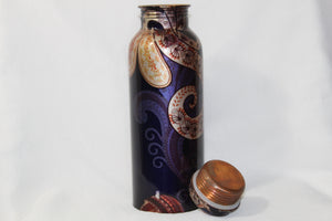 Seva 25 oz Colored Copper Water Bottle