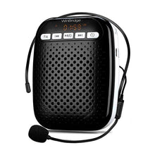 WinBridge Voice Amplifier W378 with Headset & Lavalier Microphone Portable Rechargeable PA System Speaker Built In FM Stereo Radio