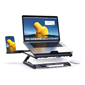 MONO Dsign Foldable Laptop Stand Sturdy Compact and Mult-functional