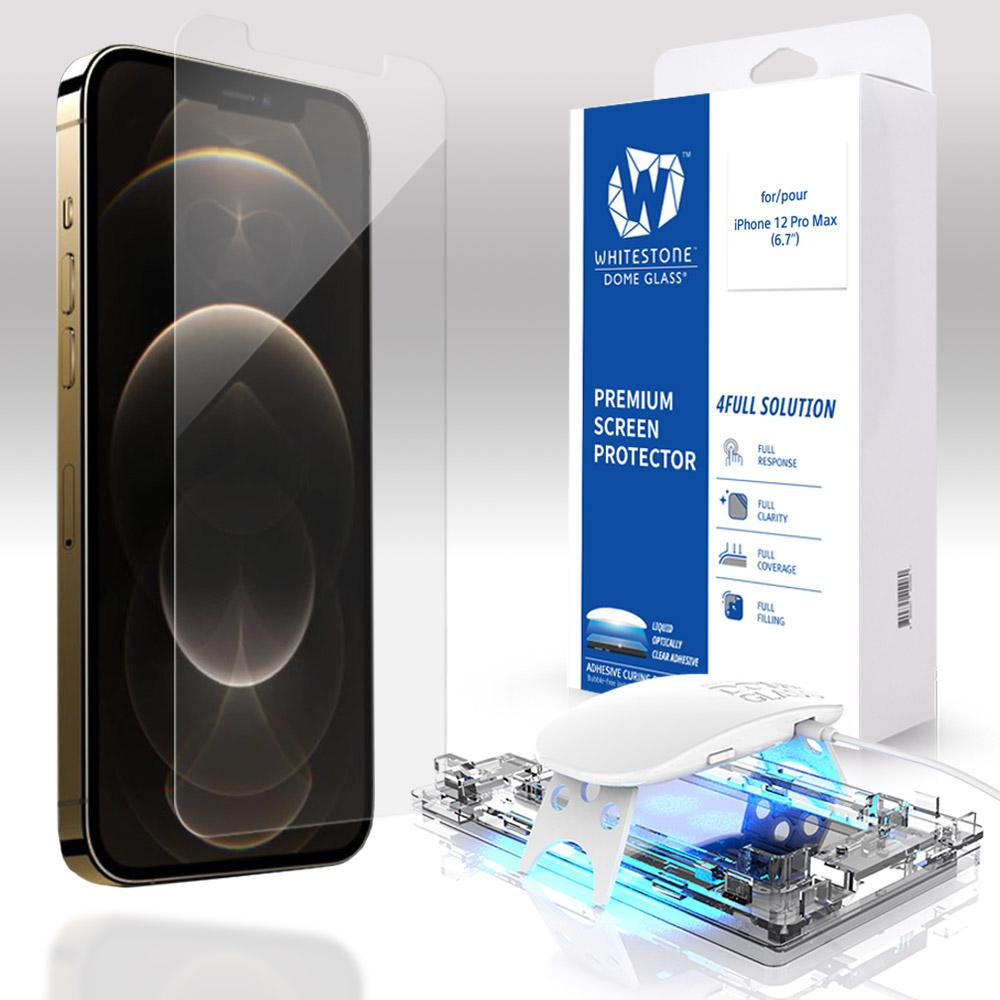 Whitestone iPhone 12 Pro Max Tempered Glass Screen Protector