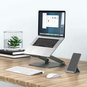 MONO Aluminium Elevator Laptop Stand and Phone Stand Set