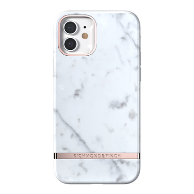 Richmond & Finch for iPhone 12/12 Pro White Marble