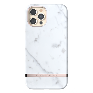 Richmond & Finch for iPhone 12 Pro Max White Marble