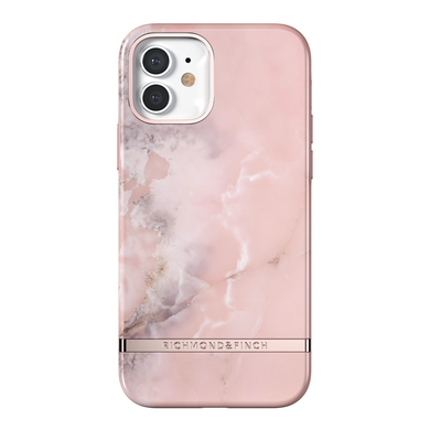 Richmond & Finch for iPhone 12/12 Pro Pink Marble